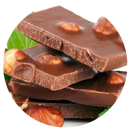 Chocolate avellanas